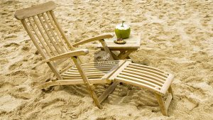 Honolulu Sunbed Loungers Wooden