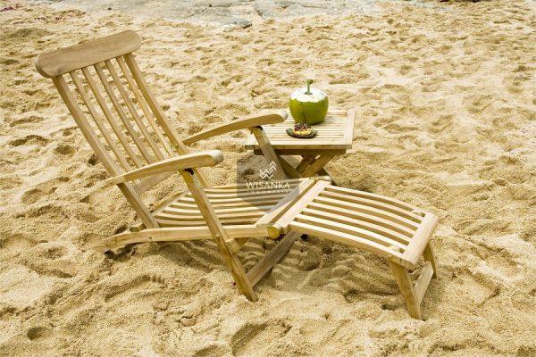 Honolulu Sunbed Loungers Wooden
