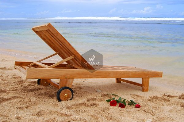 Manila Sunbed Loungers Wooden