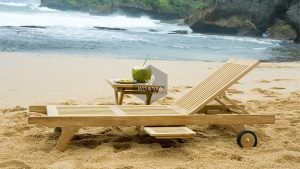 Pattaya Sunbed Loungers Wooden
