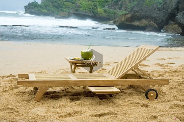 Pattaya Sunbed Loungers Wooden
