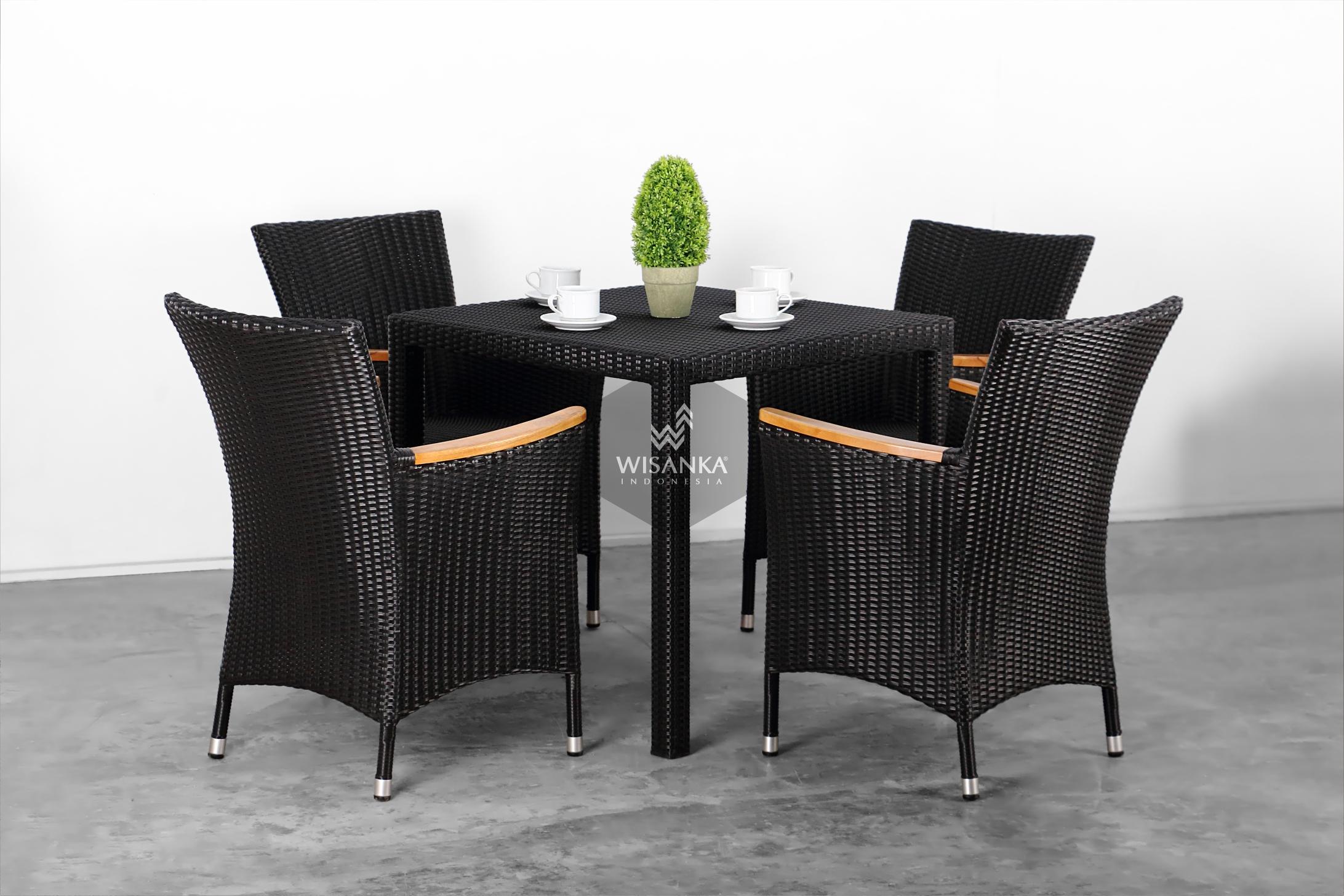 Synthetic Rattan Furniture Nova Dining Set | Indonesia ...