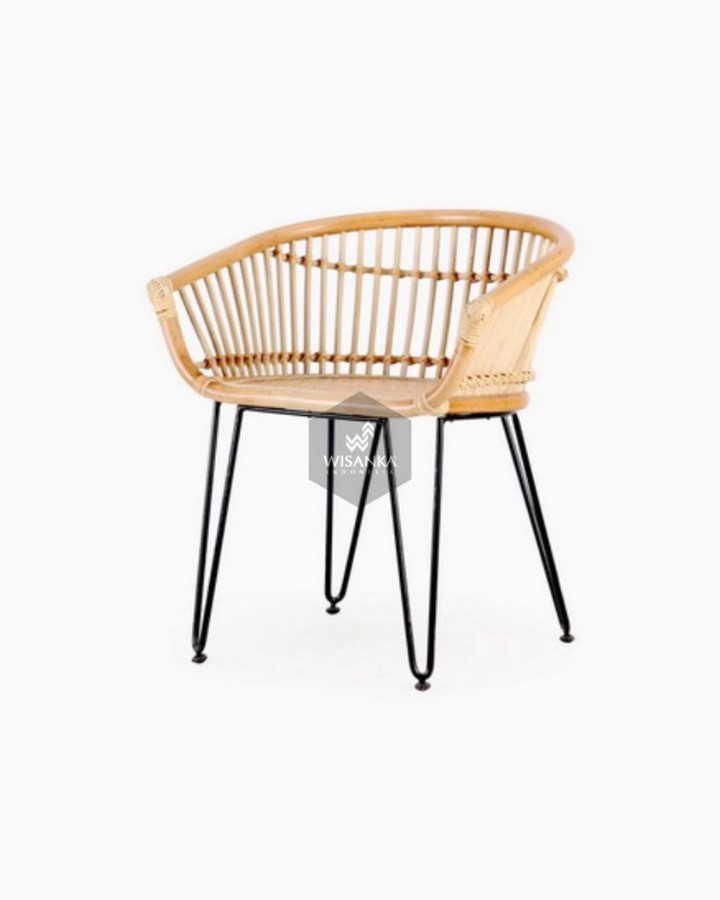 This Kuga Rattan Dining Chair from Indonesia Rattan is carefully crafted with na...
