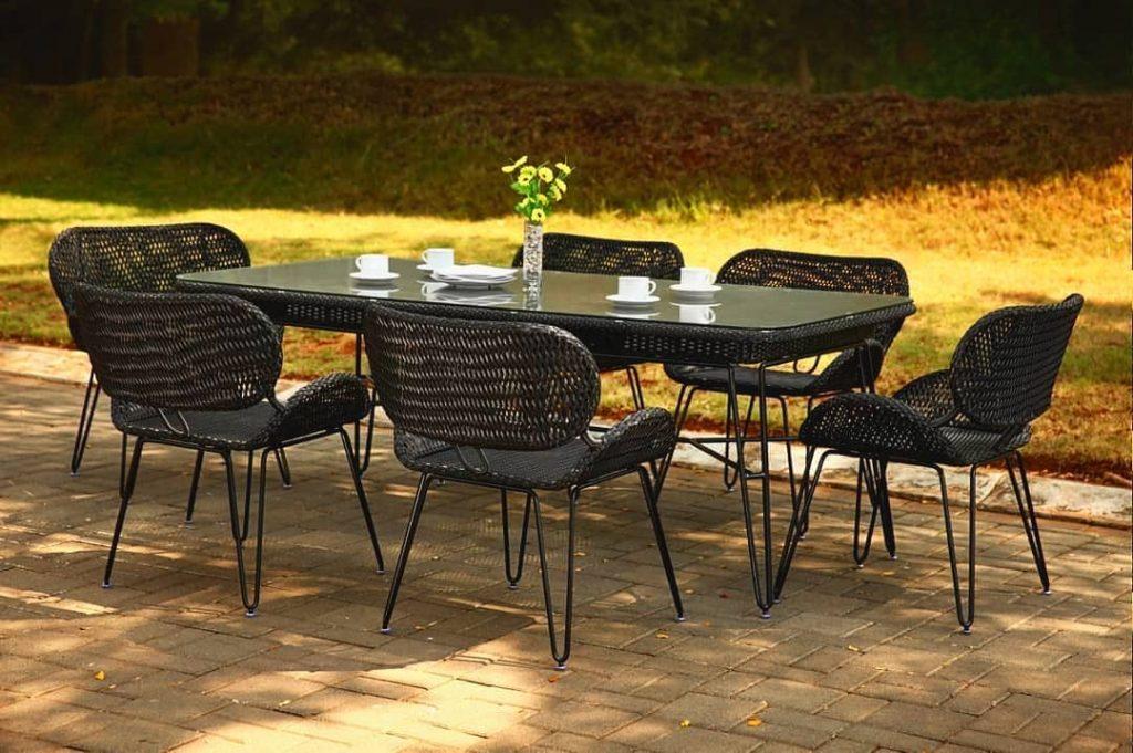 Bar Height Glass Table, Wisanka Archives Indonesia Garden Teak Outdoor Furniture